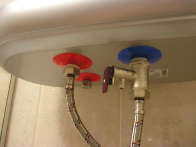 Предохранительный клапан для водонагревателя схема