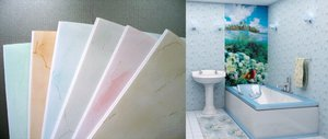 Панели из пластика для отделки стен