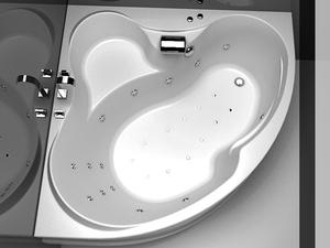 Формы угловой ванны