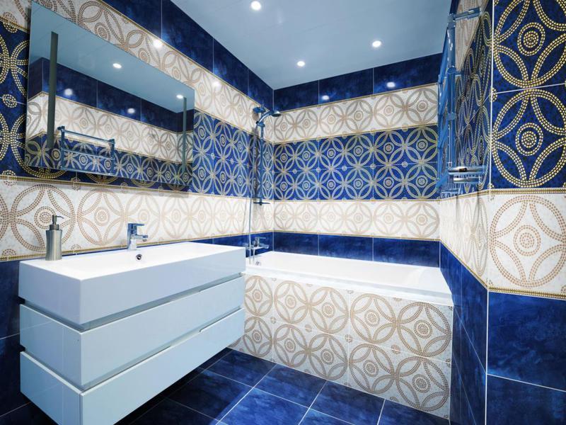 Описание факторов которые важно учитывать при выборе кафеля к интерьеру ванной комнаты