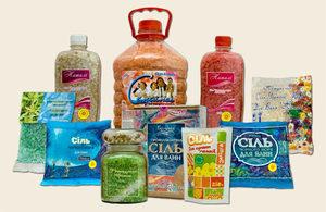 Соль для ванн - ассортимент очень разнообразен