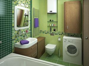 Дизайн ванной комнаты 4 кв.м совмещенной с туалетом