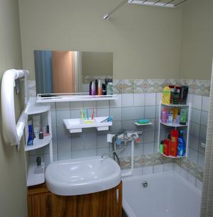 Компактная сантехника в ванной