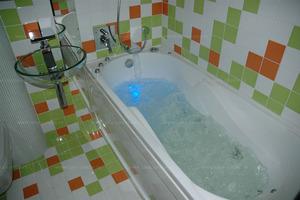 Ванная может быть выполнена в разных стилях.
