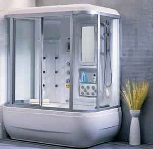 фото душевая кабина ванна