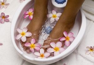 Как подготовить ванночку для ног