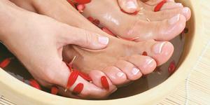 Полезные ванночки для ног