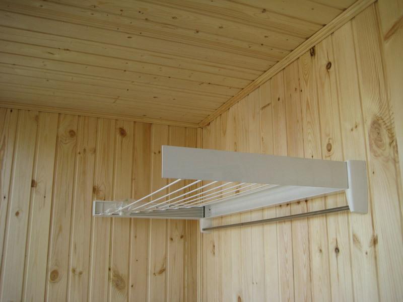 Подвесная сушилка для белья на балкон - как выбрать и устано.