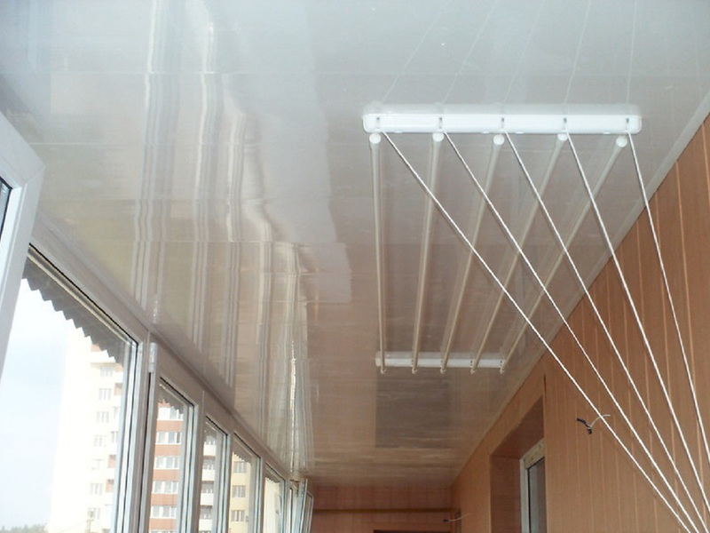 Сушилка для белья на балконе  фото 5