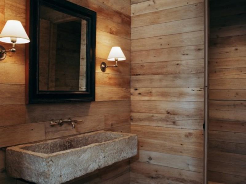Как сделать красивую ванную комнату в загородном доме