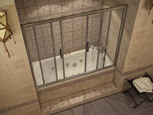 Ширма для ванной: разновидности, выбор Как сделать