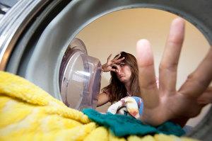 убрать запах из стиральной машины