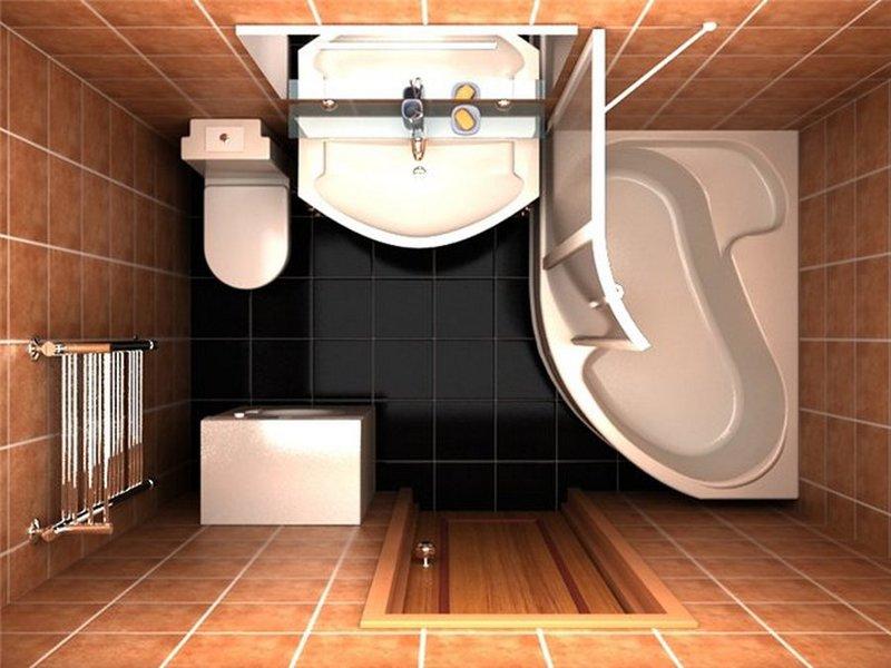 дизайн ванной комнаты фото 9 кв м с туалетом