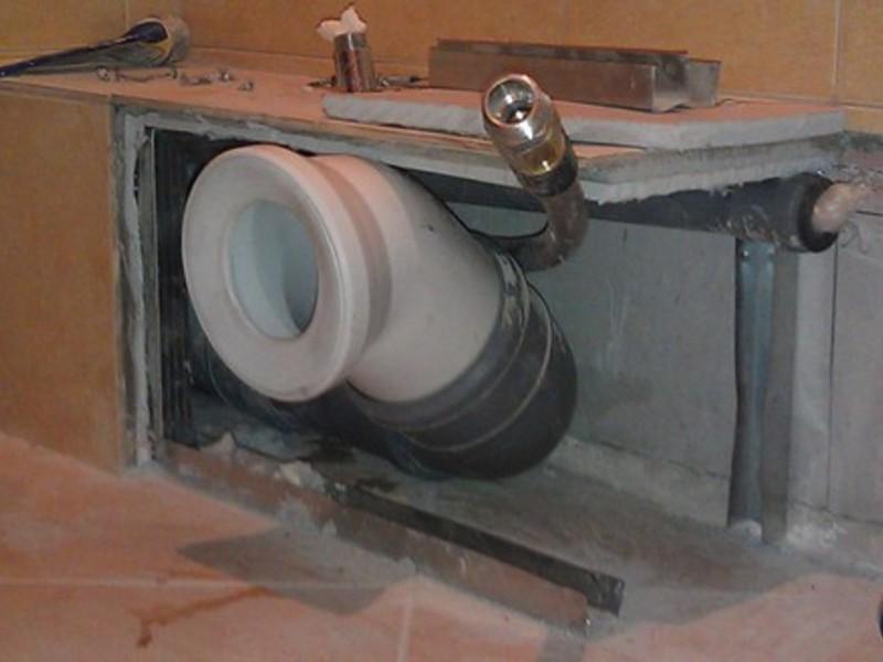 Изготовление короба в ванной