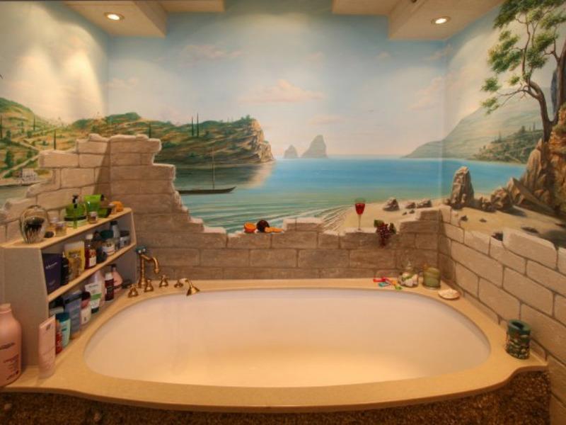 Фотообои в ванную