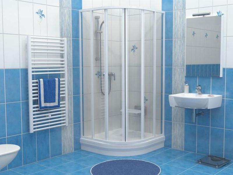 Ванная комната с душевой кабиной своими руками
