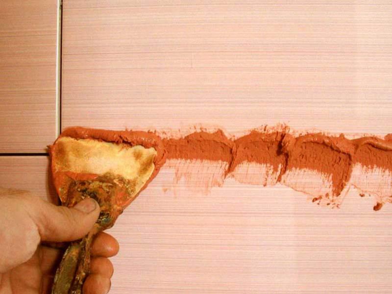 Как нарисовать цветок на плитки